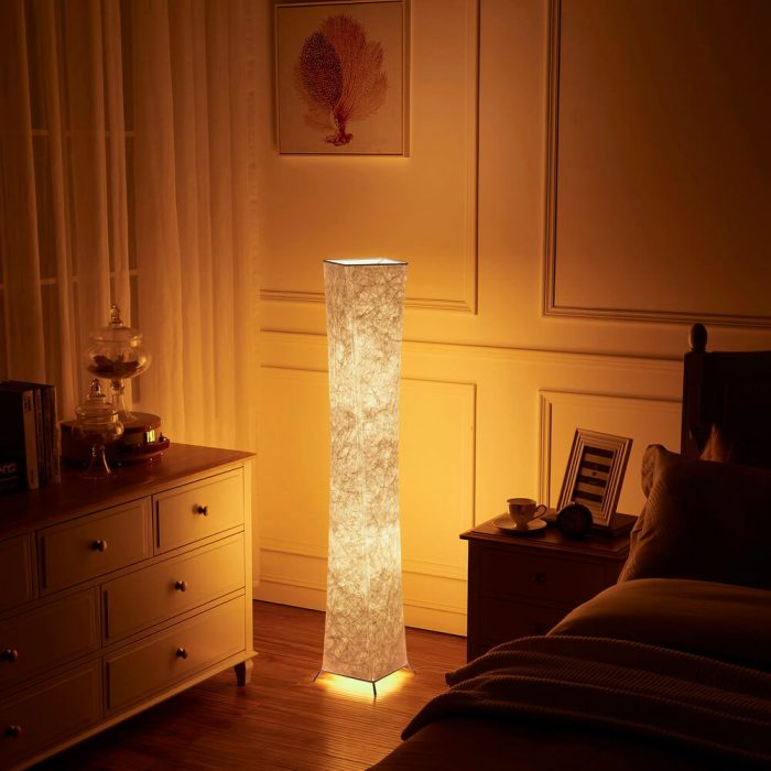 Warm Yellow Decor Dimmable Mood LED RGB Floor Lamp for Living Room