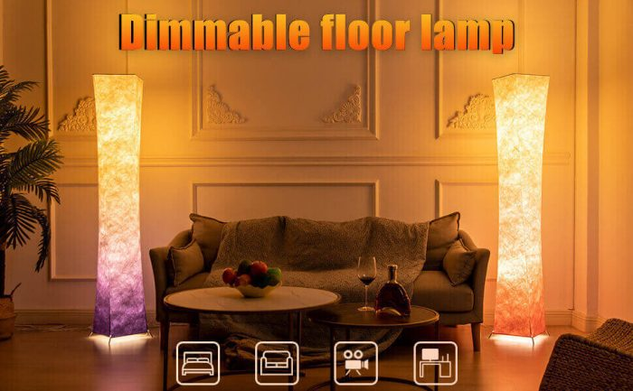 dimmable floor lamp